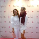 Actress Pia Tjelta and popstarlet Tone Damli Aaberge