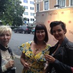 Mette, Lise and Tonje looking gorgeous